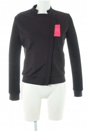 Tigha Bomberjacke schwarz Casual-Look