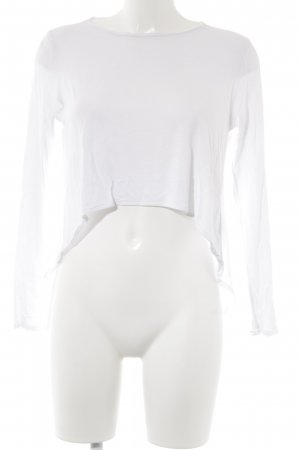 Tigha Cropped Shirt weiß Casual-Look
