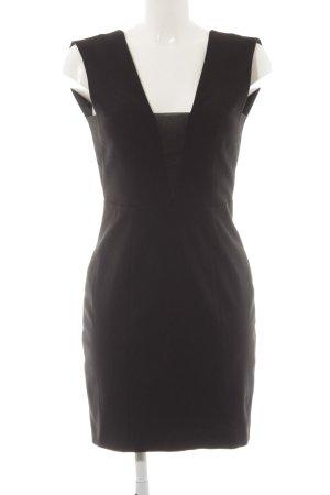 Tigha Cut-Out-Kleid schwarz Elegant