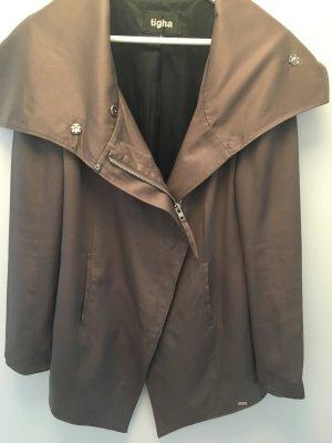 Tigha Jacke Parka in beige/khaki, Größe L 40