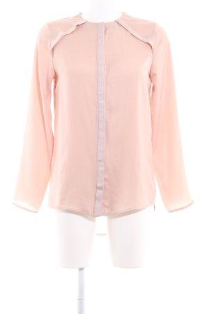 Tigha Langarm-Bluse roségoldfarben Casual-Look
