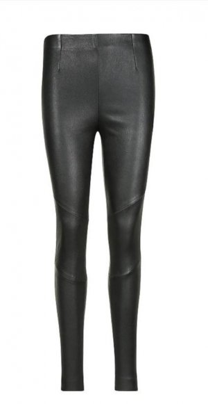 Tigha Leather Trousers black