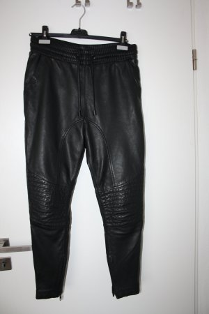 Tigha Leather Trousers black leather