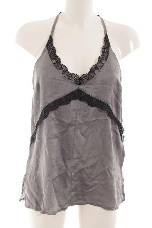 Tigha Negligee grau-schwarz Elegant