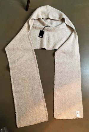 Tigha Woolen Scarf natural white mixture fibre