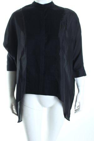 Tigha Oversized Bluse schwarz Eleganz-Look