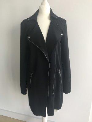 Tigha Sommer-Herbst Mantel Jacke schwarz XS-S 34-36 NEU