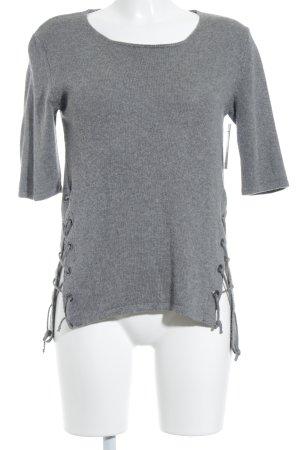 Tigha Strickpullover grau Street-Fashion-Look