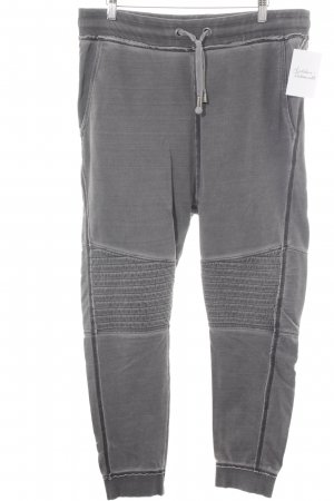 Tigha Pantalon de jogging gris style athlétique
