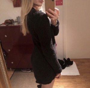 Tigha Vestido de lana negro