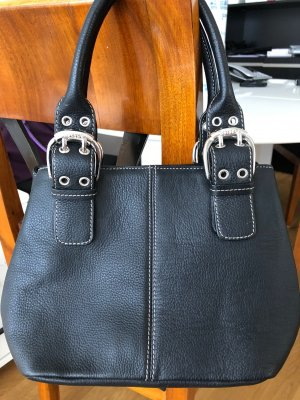 Tignanello Carry Bag black leather