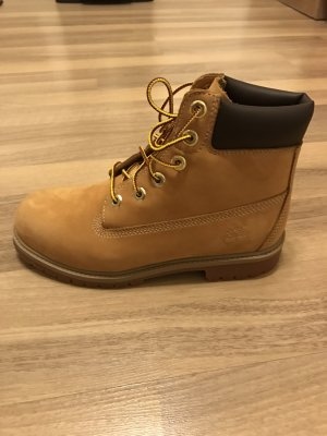 Timberland Snow Boots brown leather