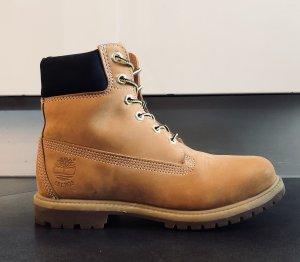 Timberland 6 Inch Boot Gelb Saphirblau
