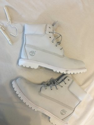 Timberland 6in Premium Boot Grey White Off-White Gr. 39
