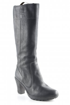 Timberland Absatz Stiefel schwarz Casual-Look