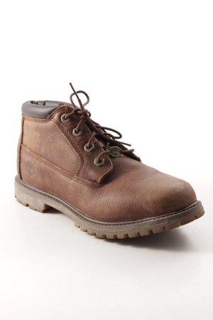 Timberland Botas de tobillo marrón-marrón oscuro estilo deportivo