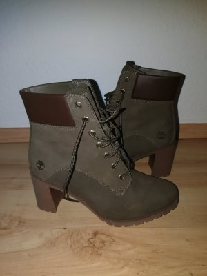 Timberland Winter Booties olive green