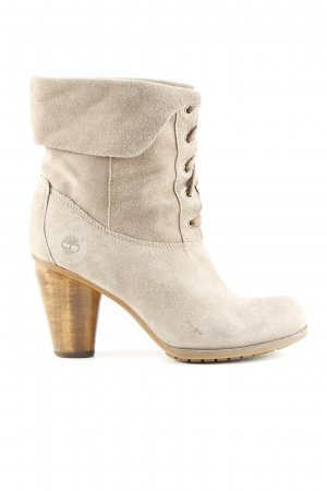 Timberland Booties wollweiß Business-Look