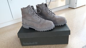 Timberland Stivaletto argento Pelle