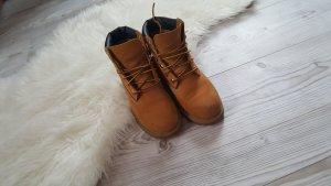 Timberland Sneeuwlaarzen goud Oranje-bruin Leer