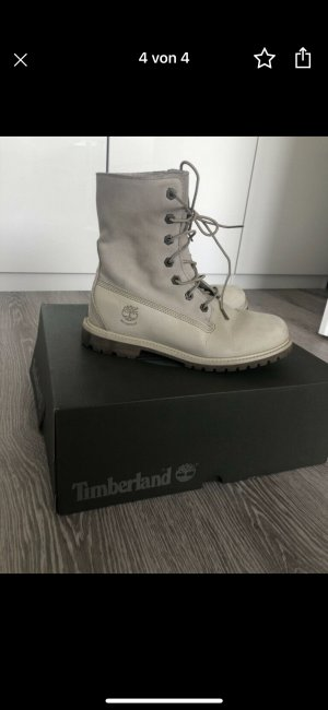 Timberland Lace-up Boots natural white-cream