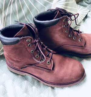Timberland Boots bordeaux rot