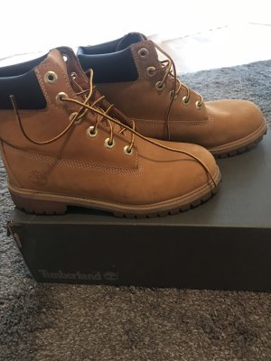 Timberland Lace-up Boots light brown-brown leather