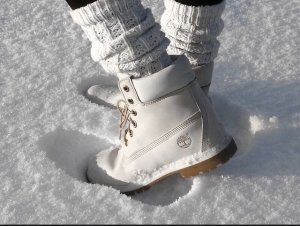Timberland Boots Creme