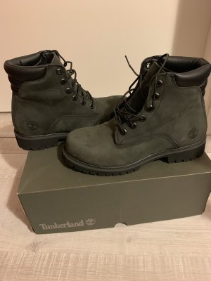 Timberland Desert Boots green grey leather