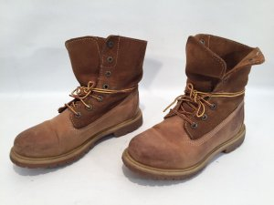 Timberland Ankle Boots camel-black brown leather