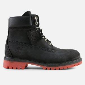 Timberland boots größe 39 schwarz rot super in