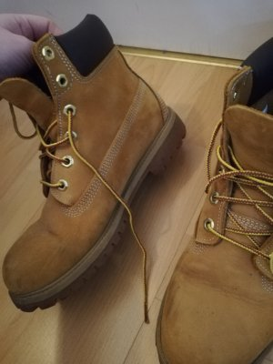 Timberland boots in hellbraun, sandbraun 40