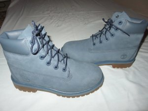 Timberland Tronchetto blu fiordaliso Pelle