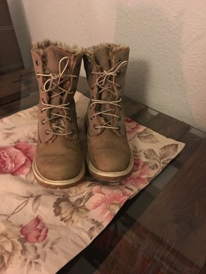 Timberland Boots mit Fell