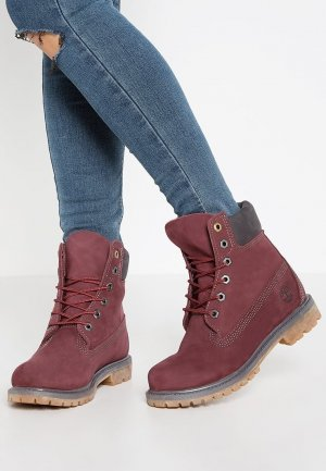 Timberland Low boot bordeau