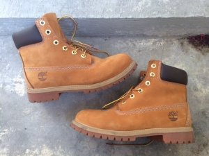 "Timberland Boots Premium 6"", Wheat Waterbuck, Gr. US 6,5"