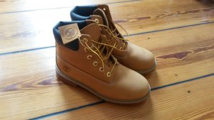 Timberland Lace-up Boots dark brown-sand brown leather