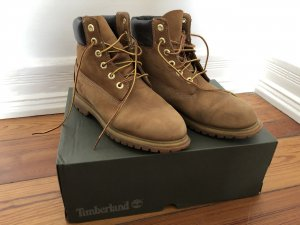 Timberland Lace-up Boots camel-bronze-colored leather