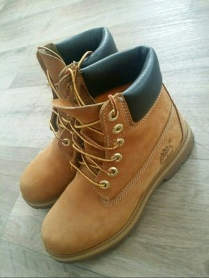 Timberland Boots Stiefel 6 Zoll 36 Schnürboots