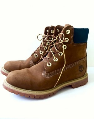 size 40 f8e1d 94994 Timberland Boots Stiefel in Dunkelbraun