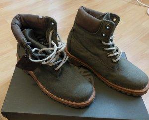 Timberland boots stiefel schnürstiefel denim