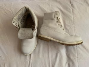 Timberland Snow Boots light grey-white leather