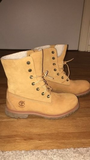 Timberland Boots Winterstiefel beige/braun, gefüttert 39 , NEU