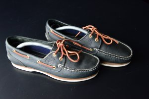 Timberland Sailing Shoes dark blue leather