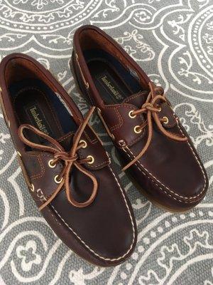 Timberland Zapatos de marinero marrón-marrón oscuro