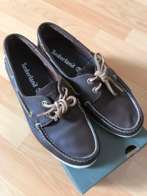Timberland Sailing Shoes dark brown