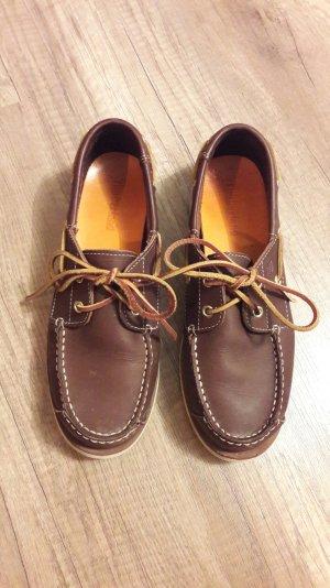 Timberland Bootsschuhe Mokassins Schlüpfschuhe Slipper Slipons Slipon Leder