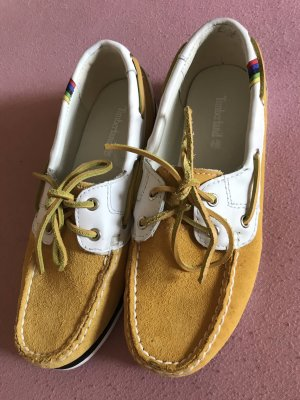 Timberland Sailing Shoes white-yellow