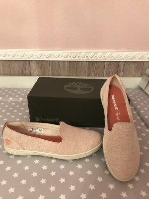 Timberland Canvas Schuhe 38,5 neu rosé