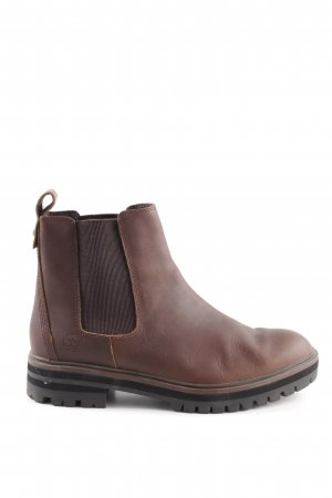 Timberland Chelsea Boots brown-dark brown classic style